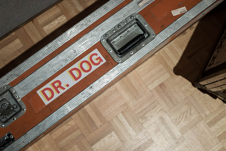 Dr. Dog label their instrument cases accordingly.