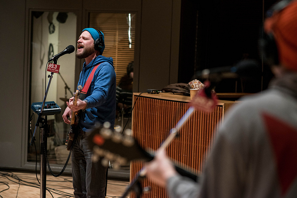 Dr. Dog's Toby Leaman performs in The Current's studio.
