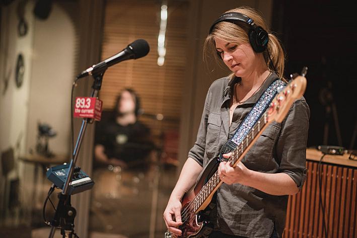 Joanna Bolme, bassist of Stephen Malkmus and the Jicks.