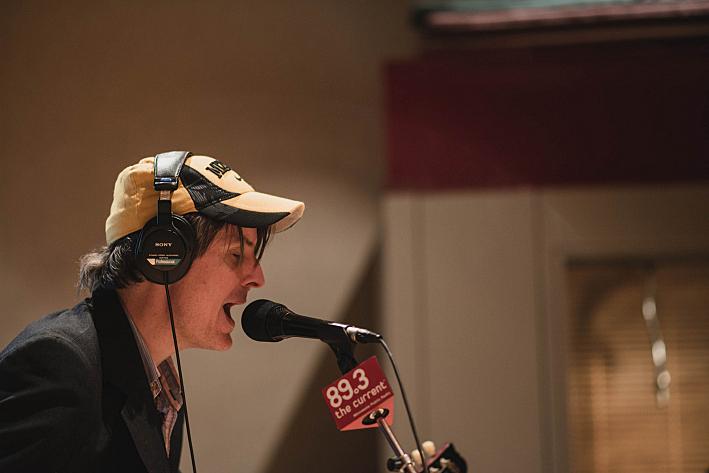 Stephen Malkmus of Stephen Malkmus and the Jicks performing in The Current's studio.