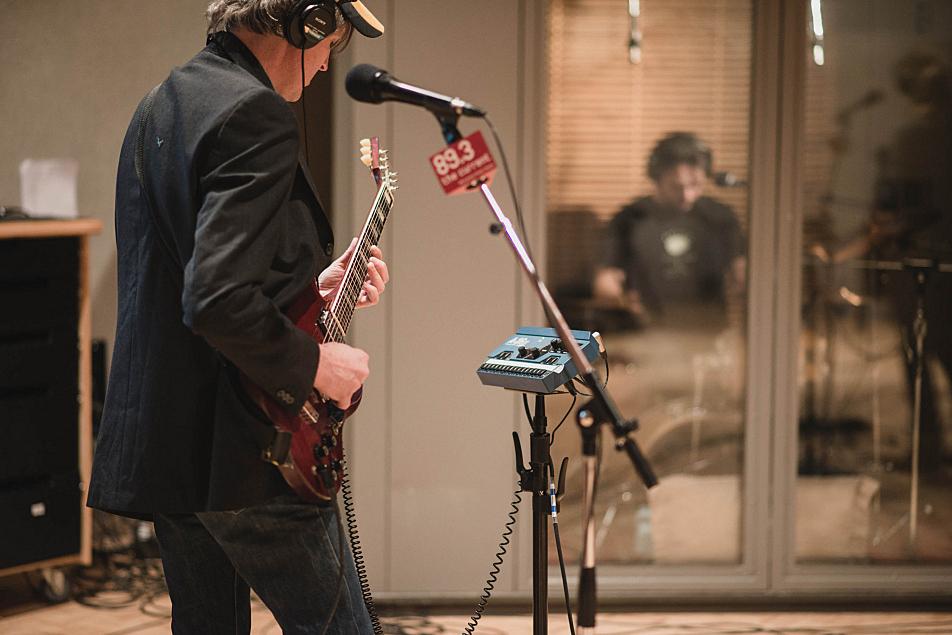 Stephen Malkmus and Jake Morris of Stephen Malkmus and the Jicks performing in The Current's studio