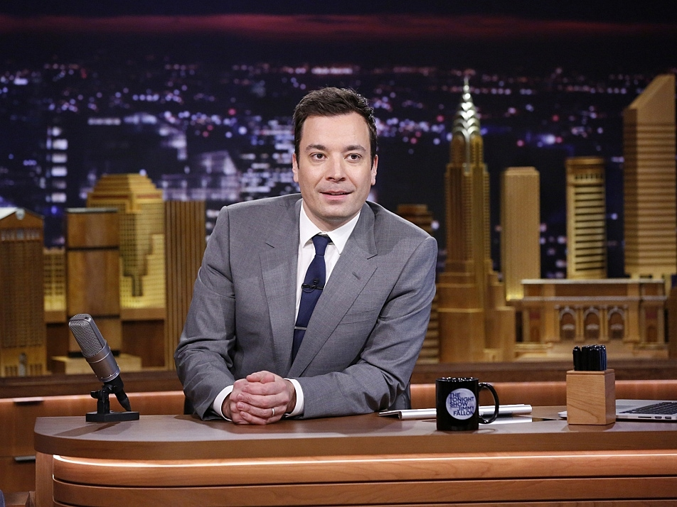 Jimmy Fallon debuted on The Tonight Show on Monday, Feb. 17.
