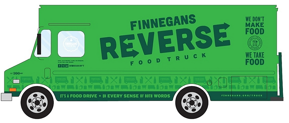 Keep an eye out for the Reverse Food Truck.