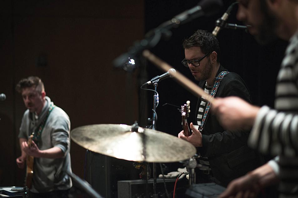 Lucius's Andrew Burri, Peter Lalish and Dan Molad