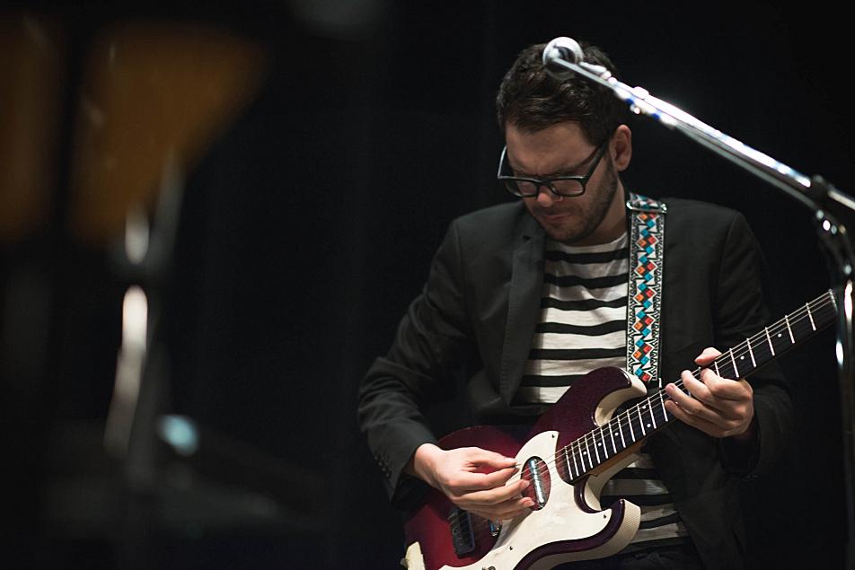 Lucius guitarist Peter Lalish