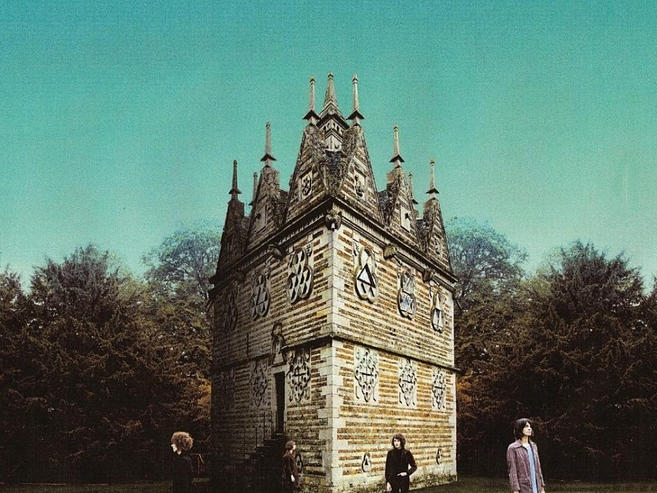 Cover of Temples' album, 'Sun Structures'.