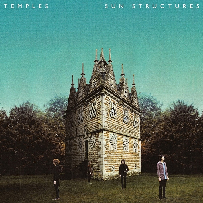 Cover of Temples' album, 'Sun Structures'.