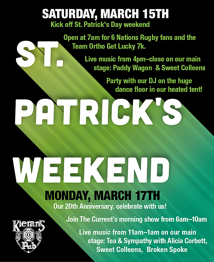 St. Patrick's Day at Kieran's