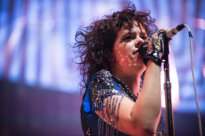 Regine Chassagne of Arcade Fire.