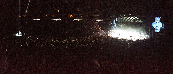 Arcade Fire at the Target Center.