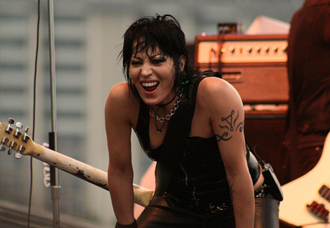 Joan Jett in 2008.