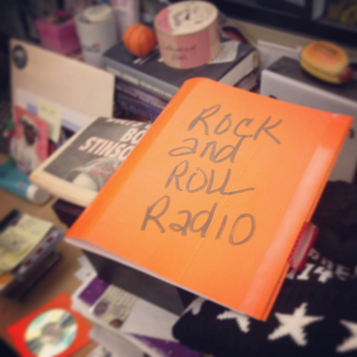 Mary Lucia's programming notes for her new show, 'Rock 'n' Roll Radio'