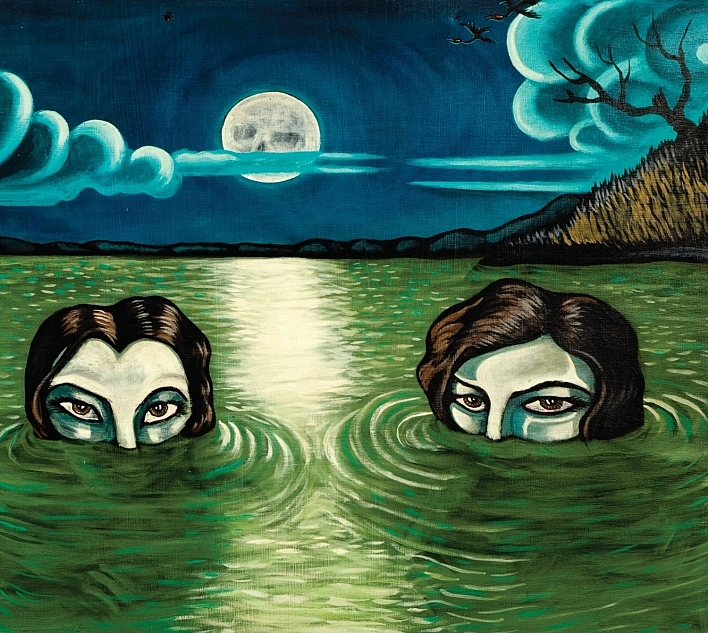 Cover art of Drive-By Truckers' 2014 album, 'English Oceans'.