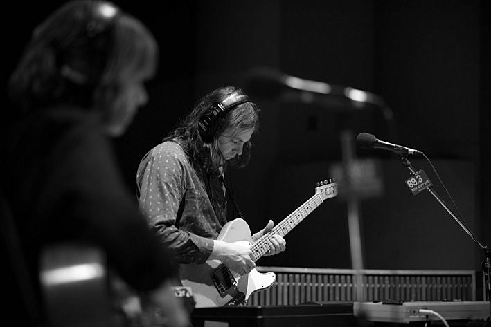 Multi-instrumentalist Chris Rose.