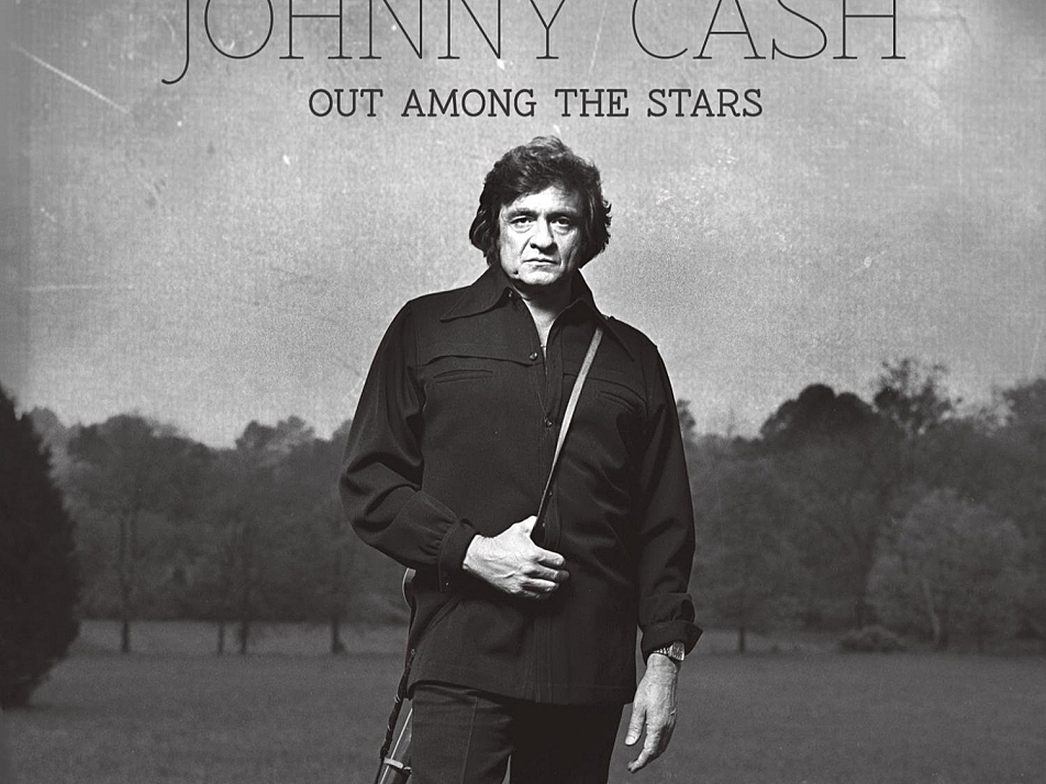 Johnny Cash's newly released album, 'Out Among the Stars', recorded in 1984.