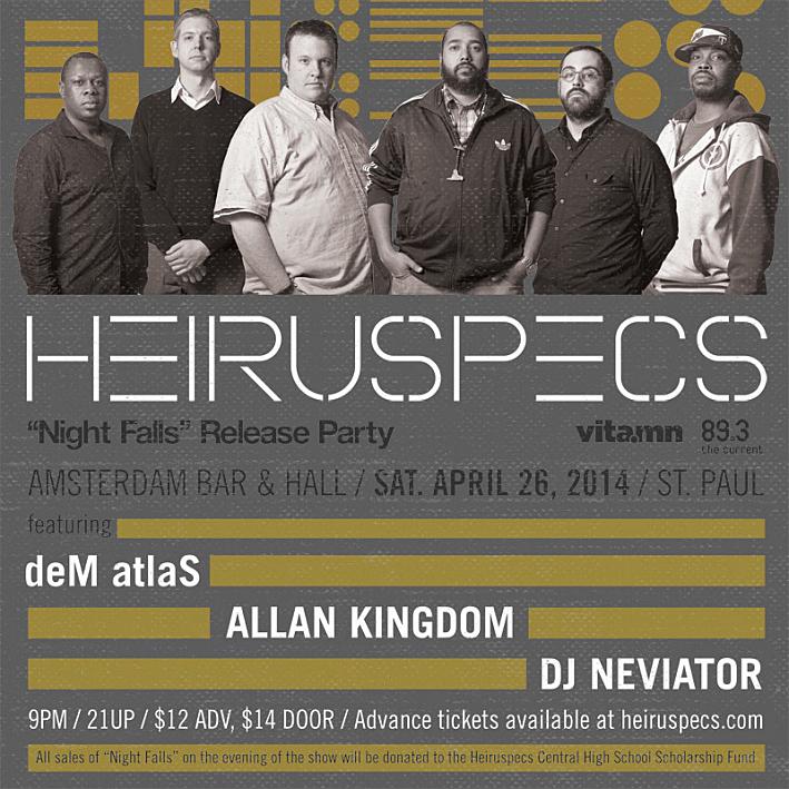 Heiruspecs album release