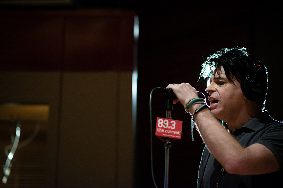 Gary Numan performs in The Current's studio.