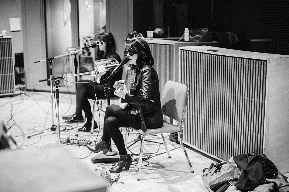 Dum Dum Girls perform in The Current studio