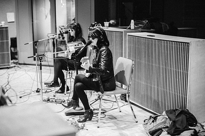 Dum Dum Girls perform in The Current studio