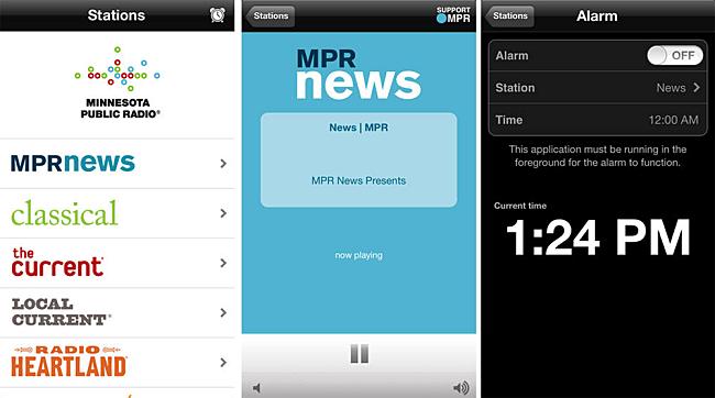 MPR mobile app