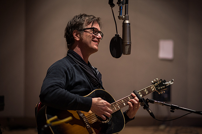 Dan Wilson performing the title track off his new album <em>Love Without Fear</em>.