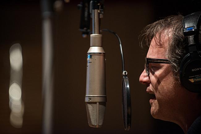 Dan Wilson in The Current's studio.