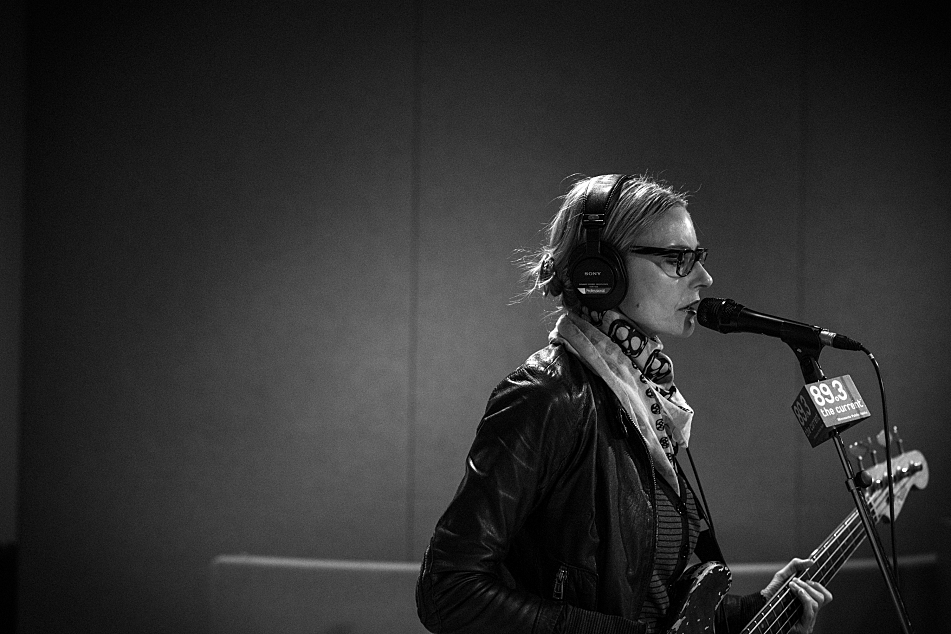 Aimee Mann in The Current's studio.