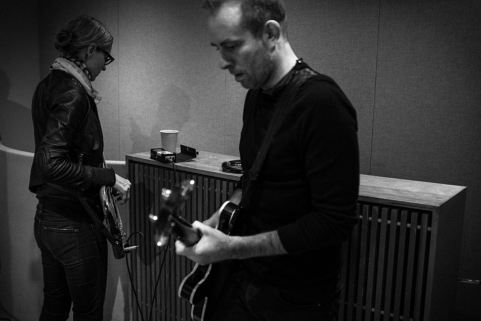 The Both are Aimee Mann and Ted Leo. They performed in The Current's studio.
