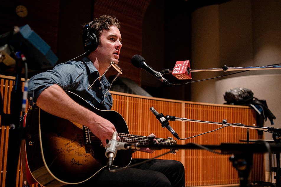 G. Love performs in The Current studio.