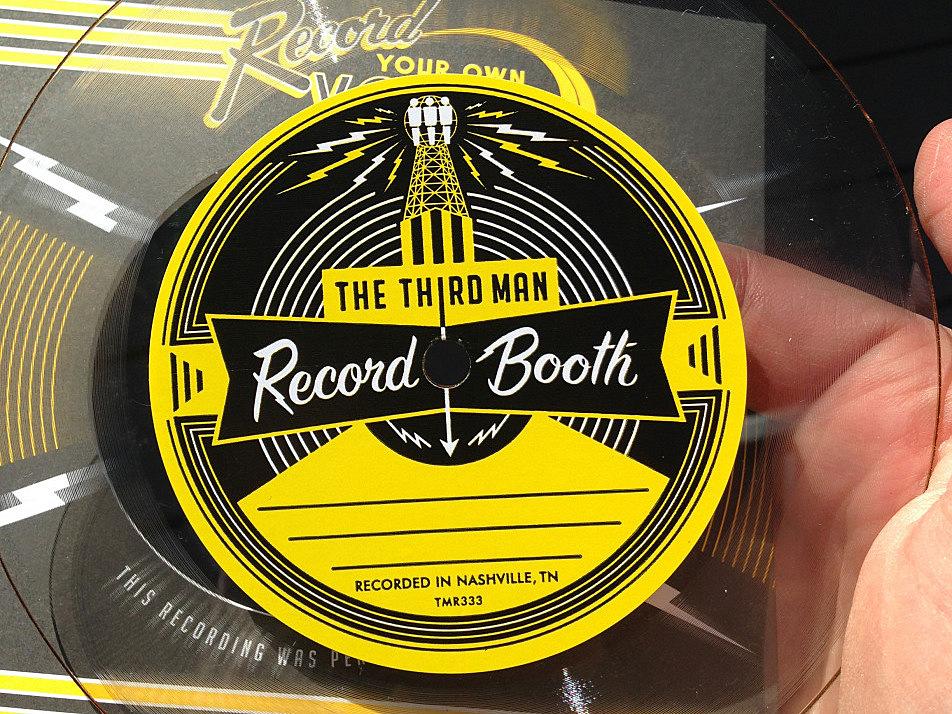 Jim McGuinn's acetate master, recorded at Third Man Records in Nashville, Tenn.