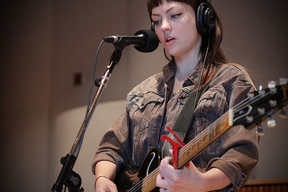 Angel Olsen performs in The Current's studio.