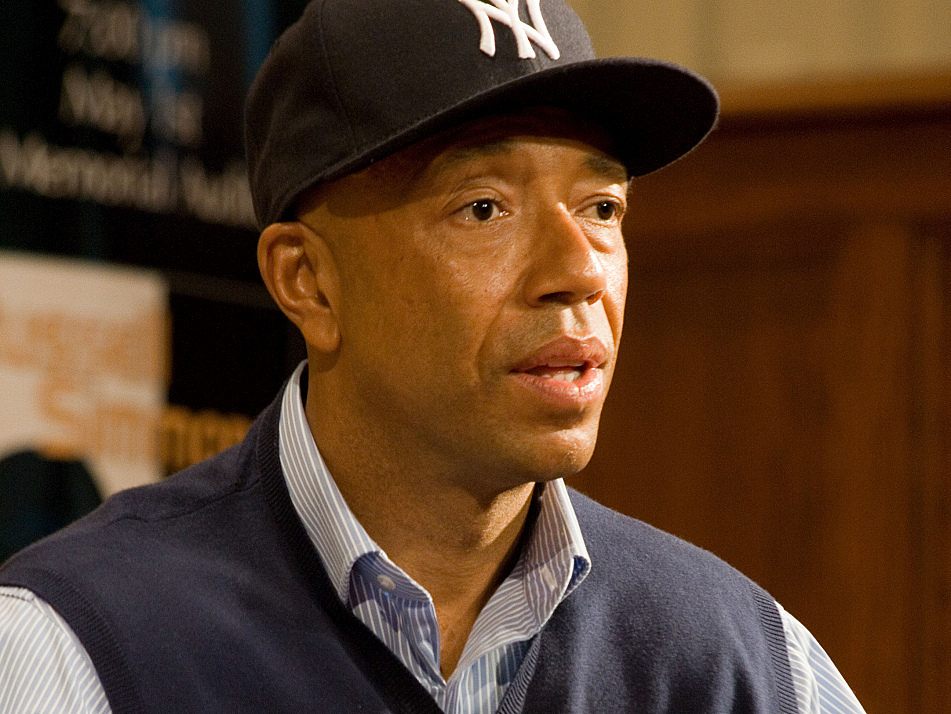 Russell Simmons speaking at Emory University