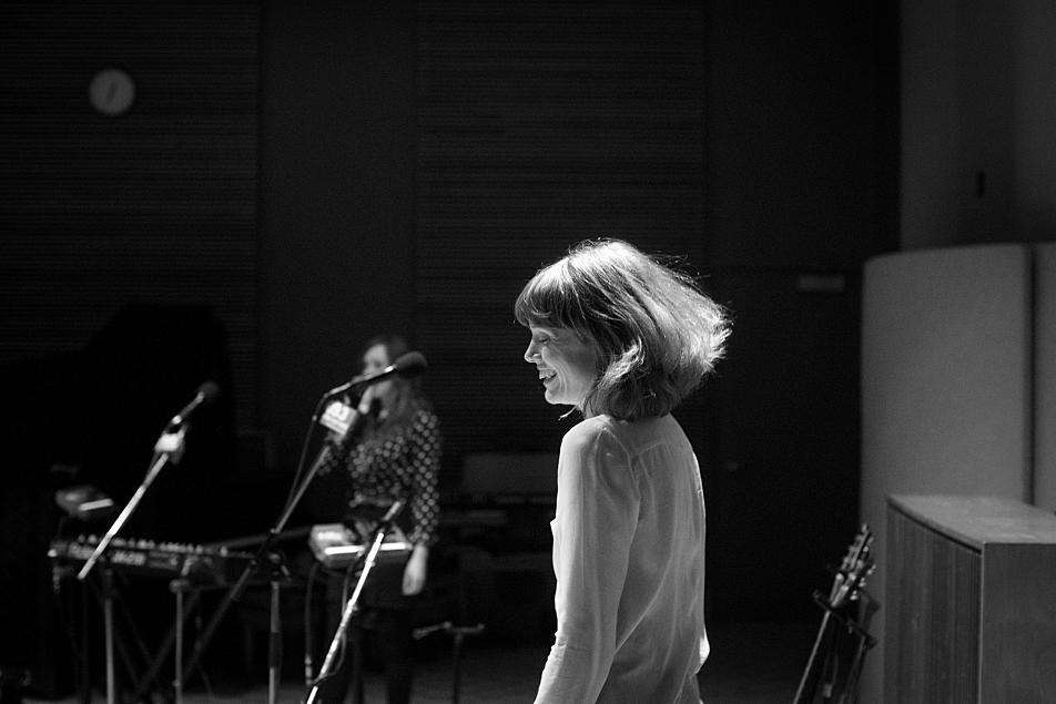 Haley Bonar performs in The Current studio.