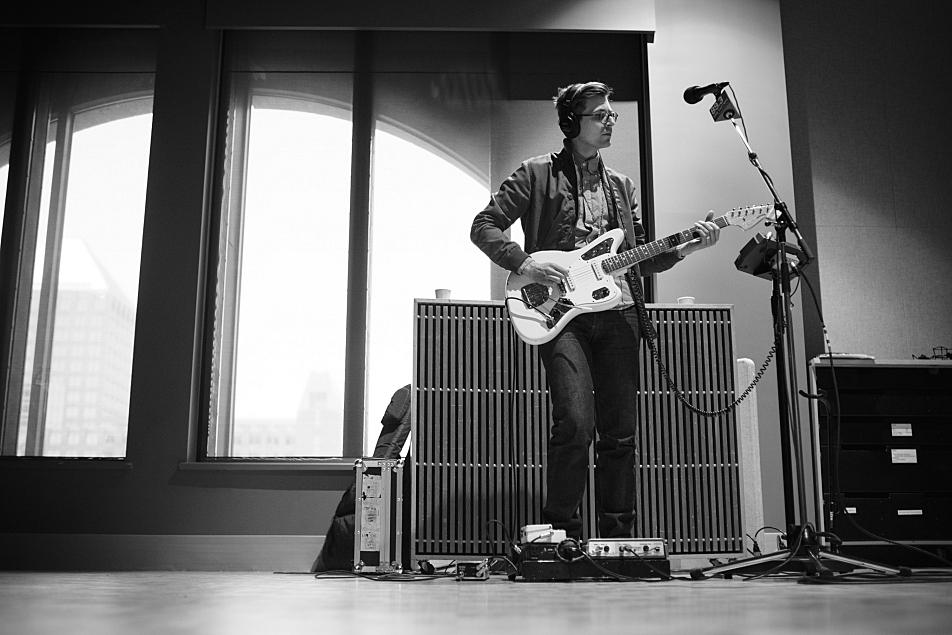 Jacob Hanson on guitar