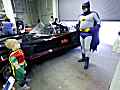 Robin meets Batman