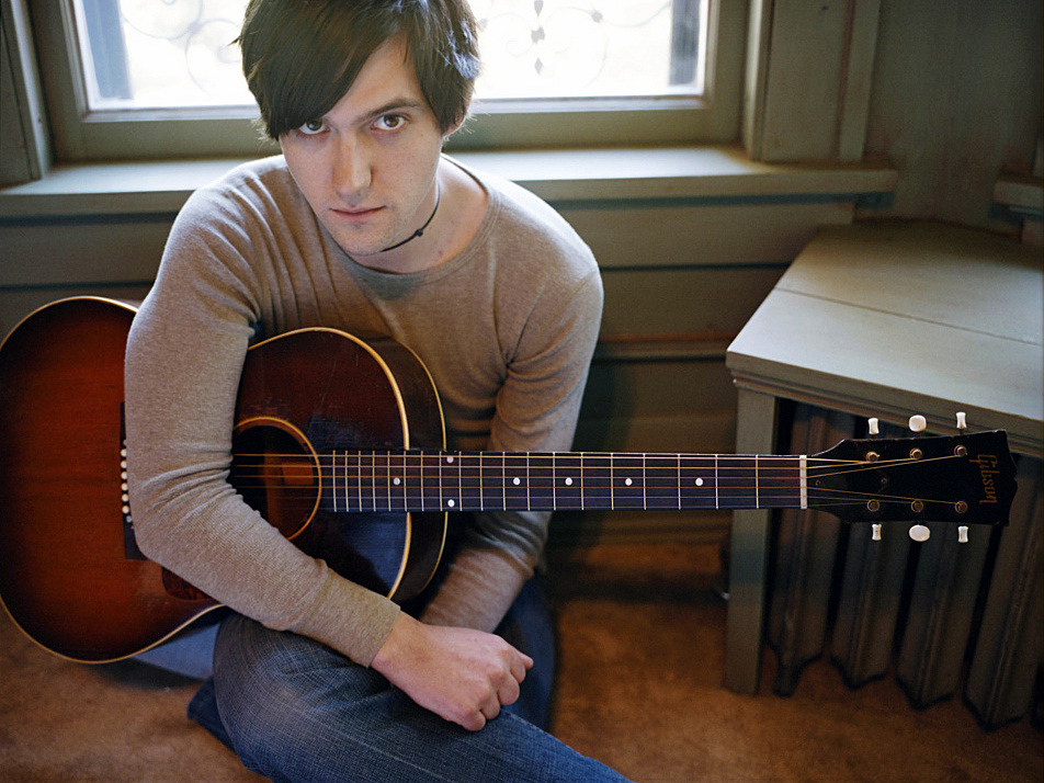 Conor Oberst poses for a portrait in Omaha, Neb.