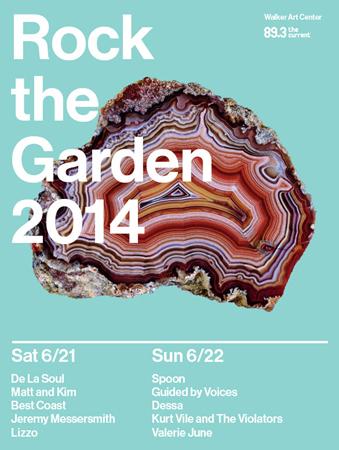 Rock the Garden lineup for 2014