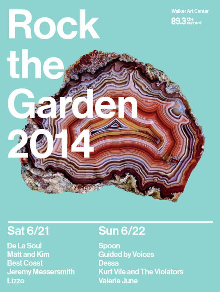Purchase tickets to Rock the Garden 2014