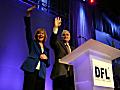 Gov. Mark Dayton  and Tina Smith