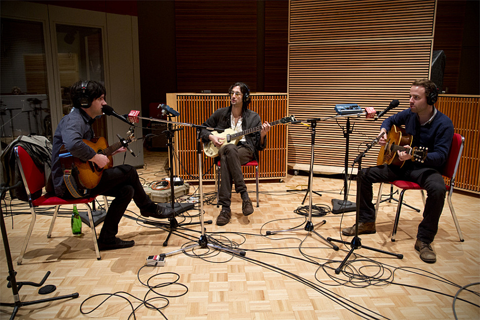 Conor Oberst and Dawes perform in The Current's studio.
