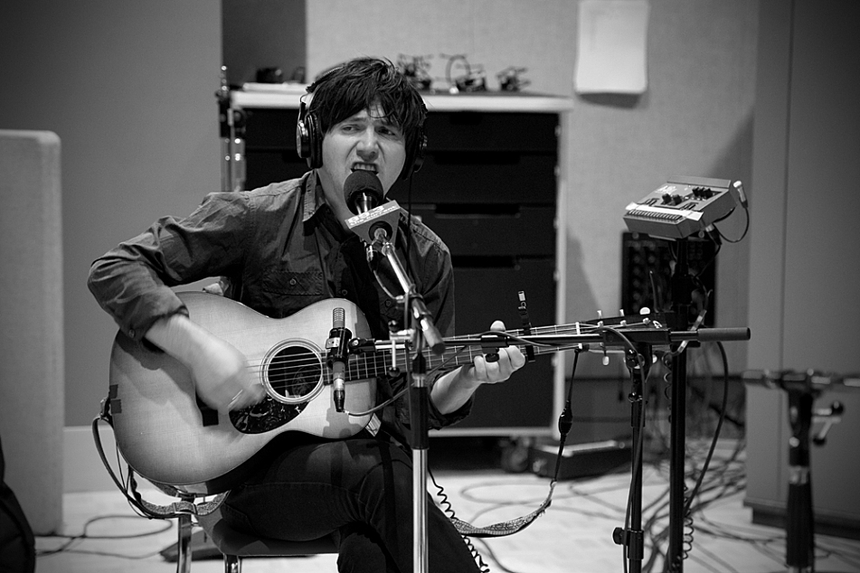 Conor Oberst performs in The Current studio