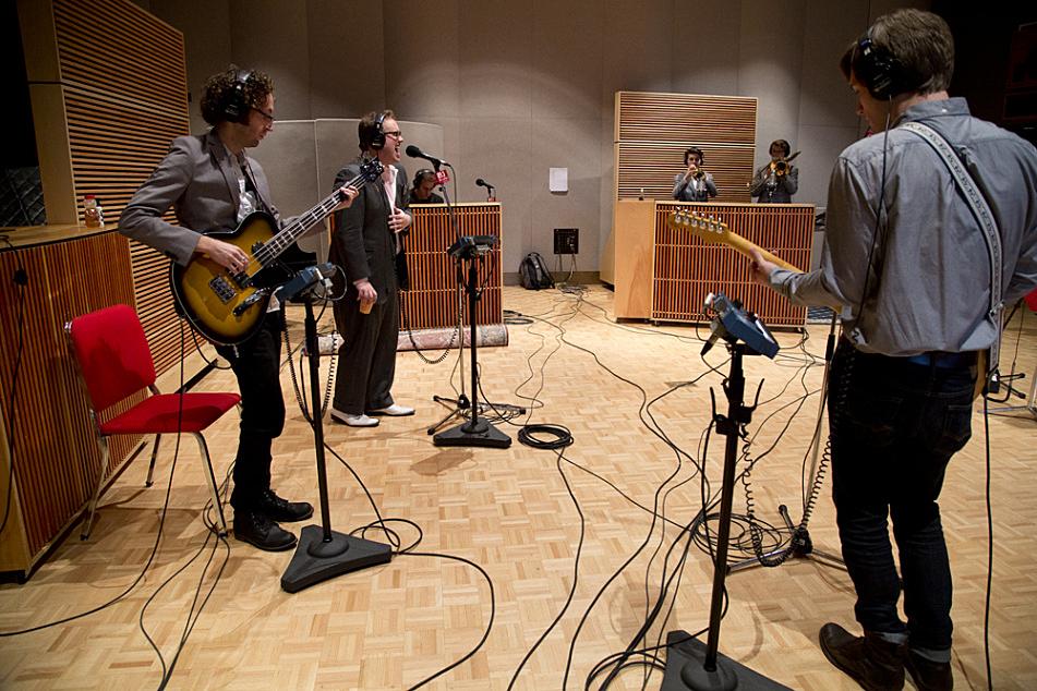 St Paul and the Broken Bones perform in The Current studio