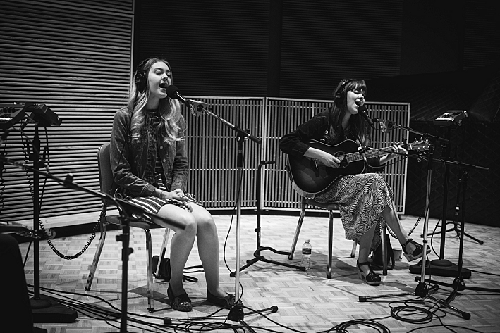 First Aid Kit performing live in The Current studio.