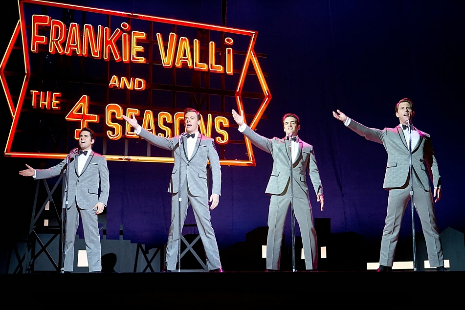 'Jersey Boys' is based on the Tony award-winning Broadway musical. Frank Valli, Bob Gaudio, Tommy DeVito and Nick Massi go from blue-collar wrong side of the track origins to become American pop sensations, selling 175 million records worldwide before they are 30 years old.