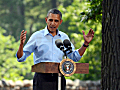 Pres. Obama at Minnehaha Park