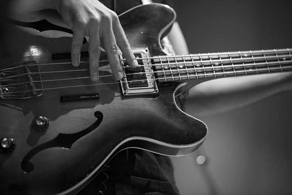 Benjamin Booker's bassist Alex Spoto