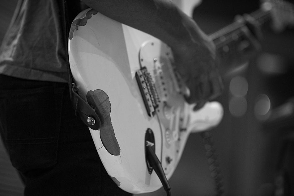 Benjamin Booker performs in The Current studio