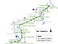 Latest SWLRT map of Kenilworth Corridor