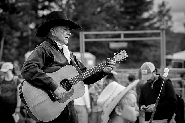 Singing rodeo cowboy