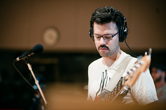 tUnE-yArDs' bassist Nate Brenner performing live in The Current studio.